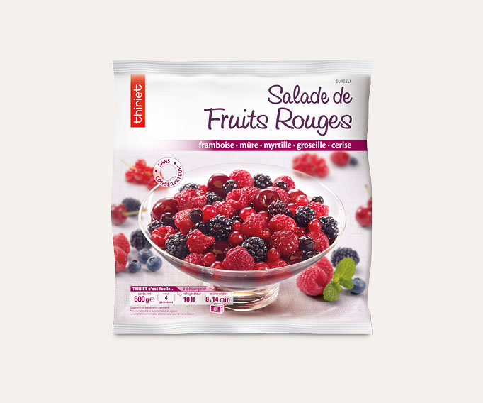 Salade de fruits rouges