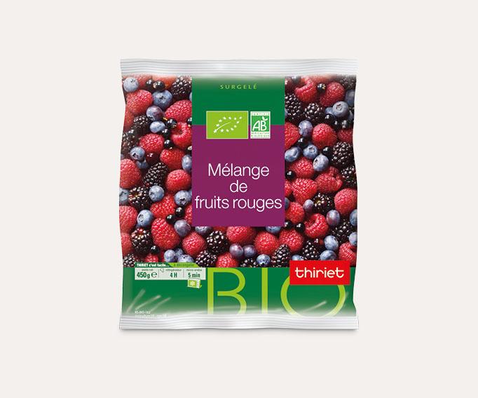 Mélange de fruits rouges biologiques