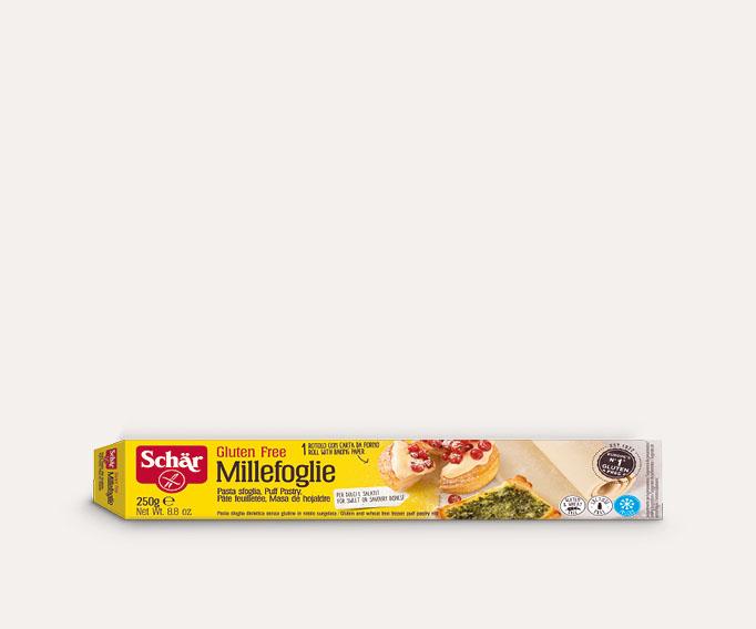 Pâte feuilletée 'Millefoglie' sans gluten