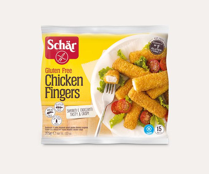 Bâtonnets de poulet panés sans gluten