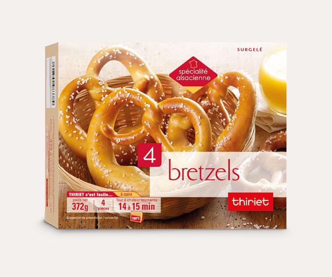 4 Bretzels