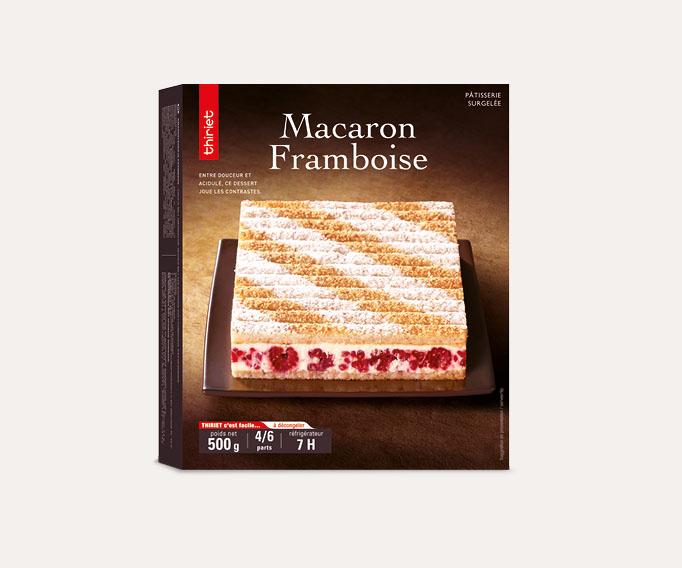 Macaron framboise