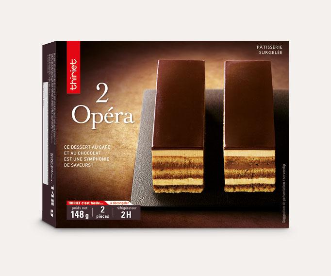2 Opéra Lot de 2 boîtes