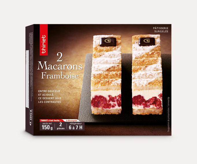 2 Macarons framboise