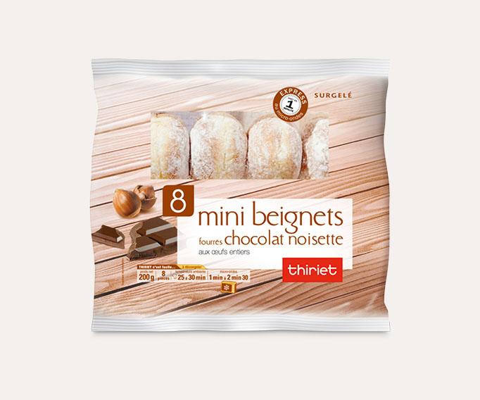 8 Mini beignets fourrés Lot de 2 sachets au choix
