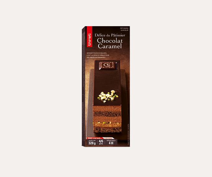 Délice du pâtissier chocolat caramel