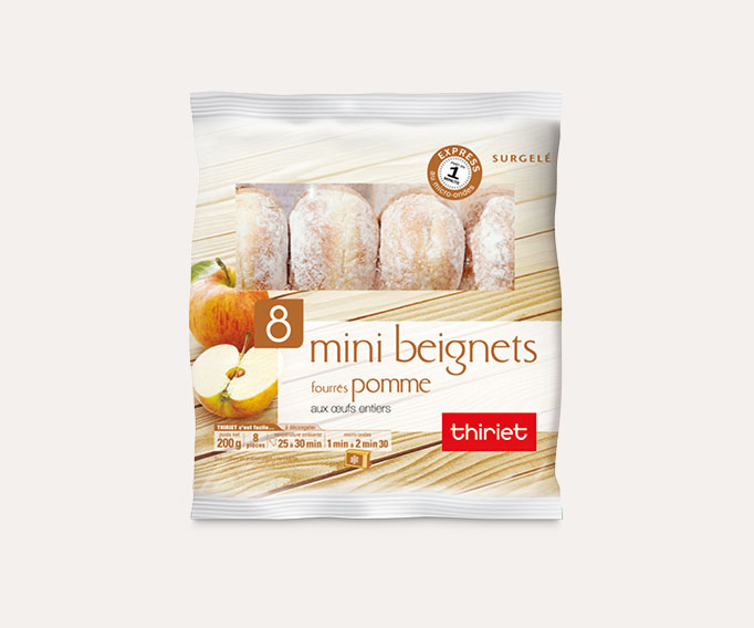 8 Mini beignets fourrés pomme