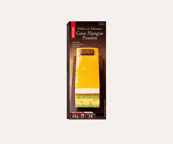 Délice du pâtissier coco mangue passion