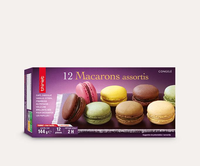 12 Macarons assortis