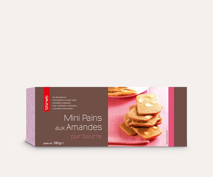 Mini pains aux amandes