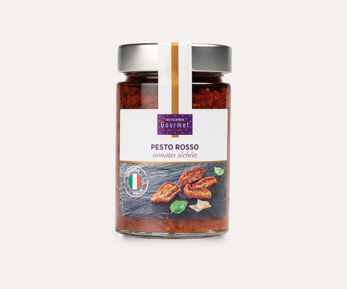 Pesto rosso tomates séchées