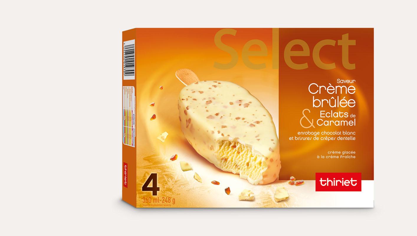 4 Select™ Saveur crème brûlée