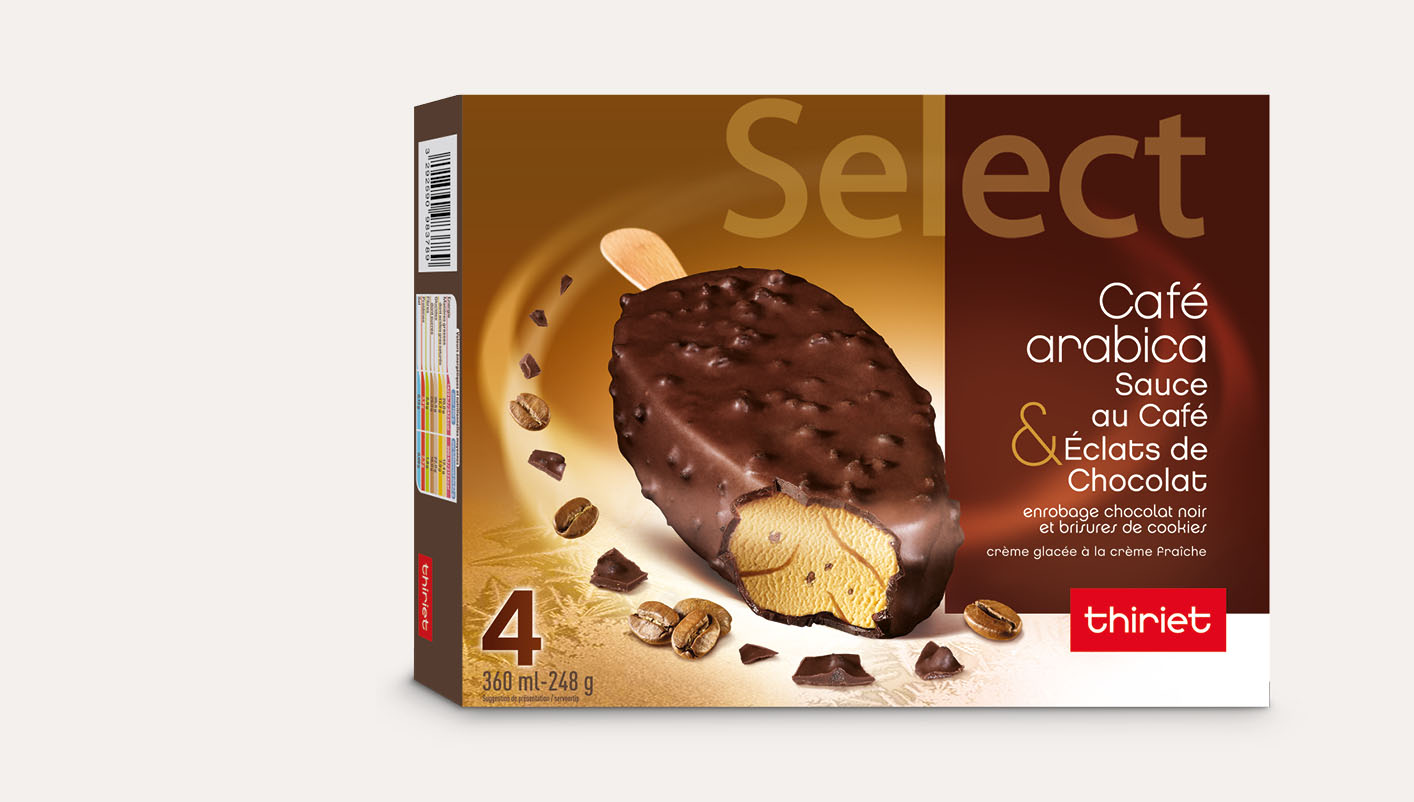 4 Select™ Café arabica chocolat