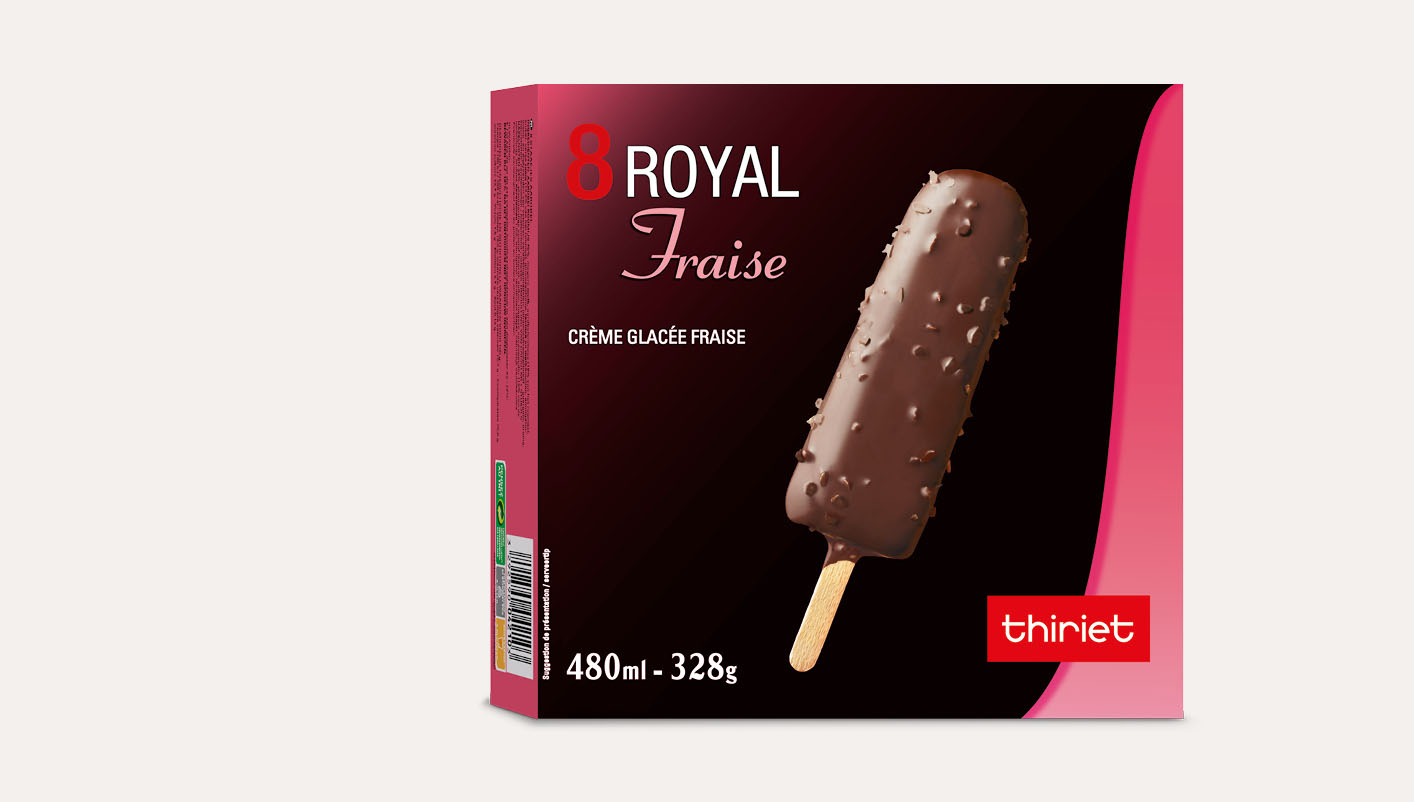8 Royal™ Fraise