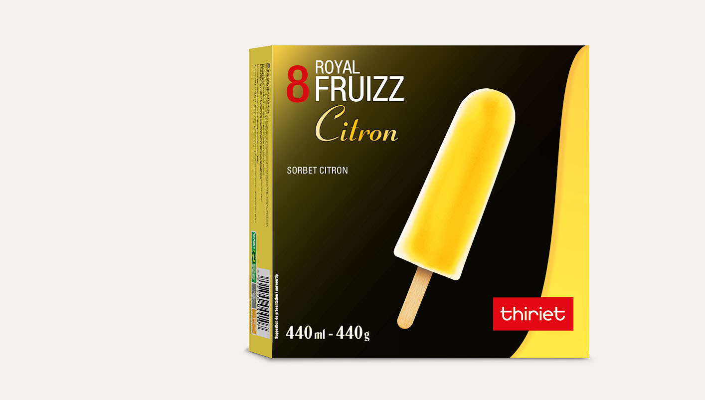 8 Royal™ Fruizz Citron