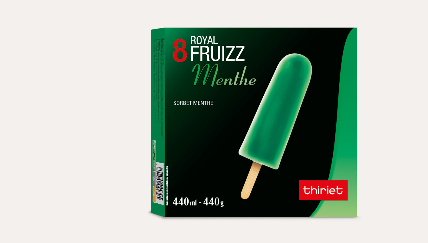 8 Royal™ Fruizz Menthe