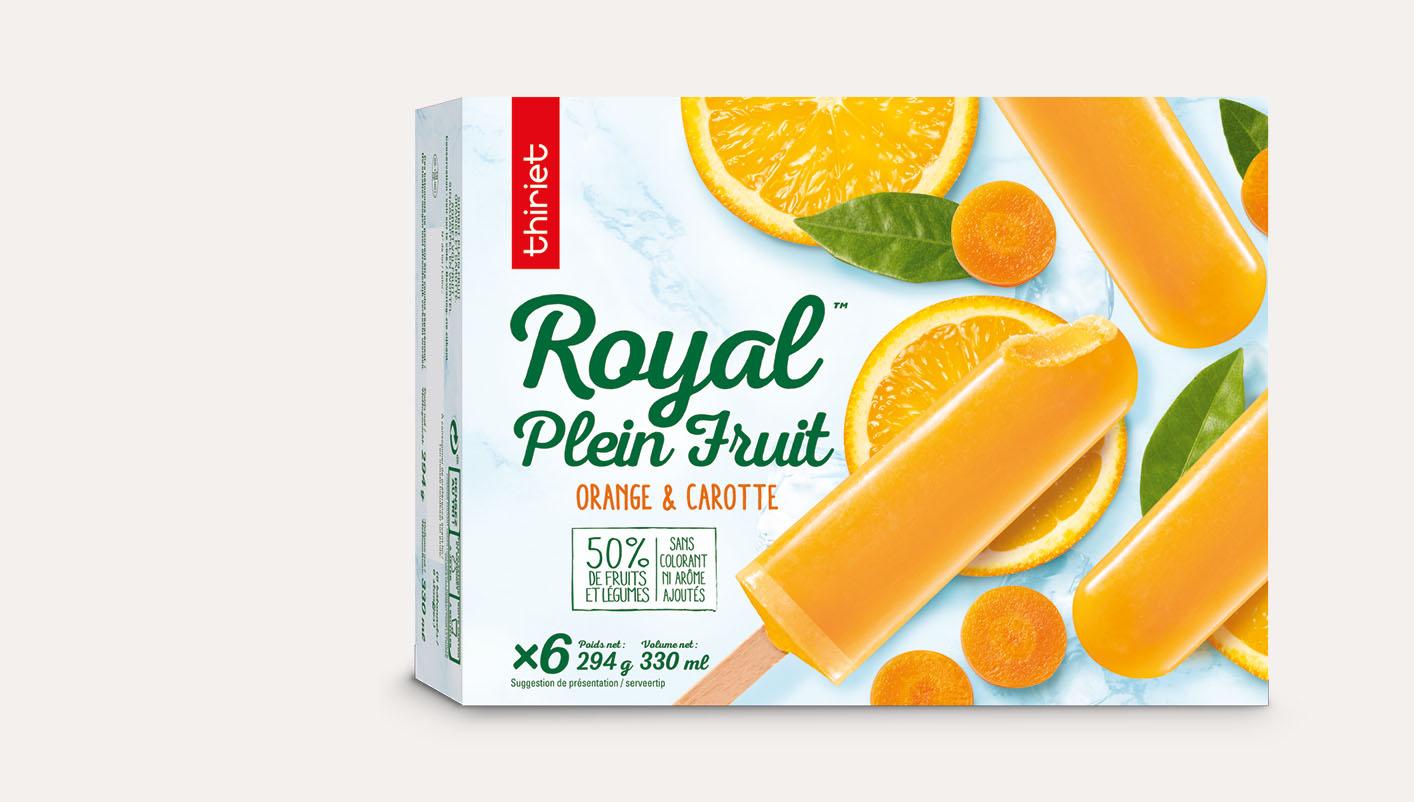 6 Royal™ Plein Fruit orange-carotte