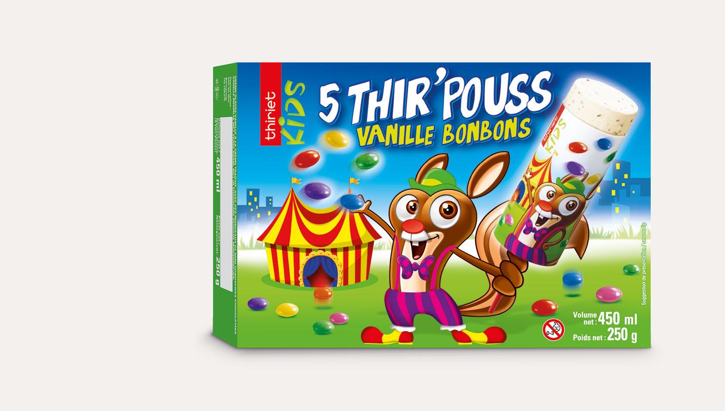 5 Thir'Pouss™ Vanille/Bonbons