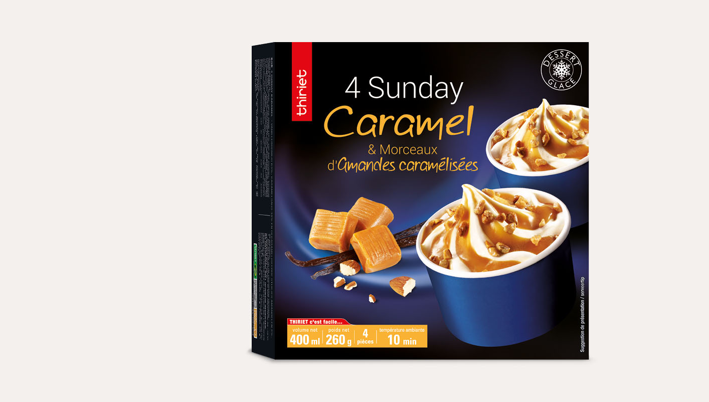 4 Sunday caramel