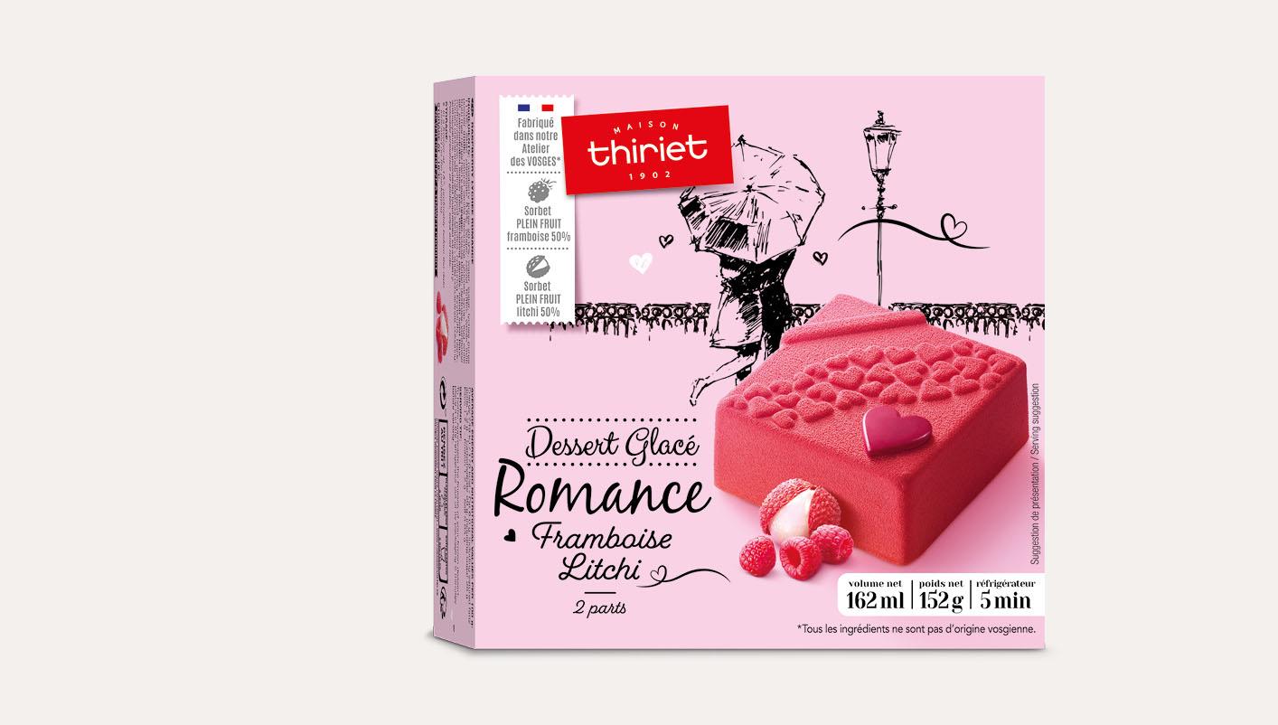 Romance framboise - litchi