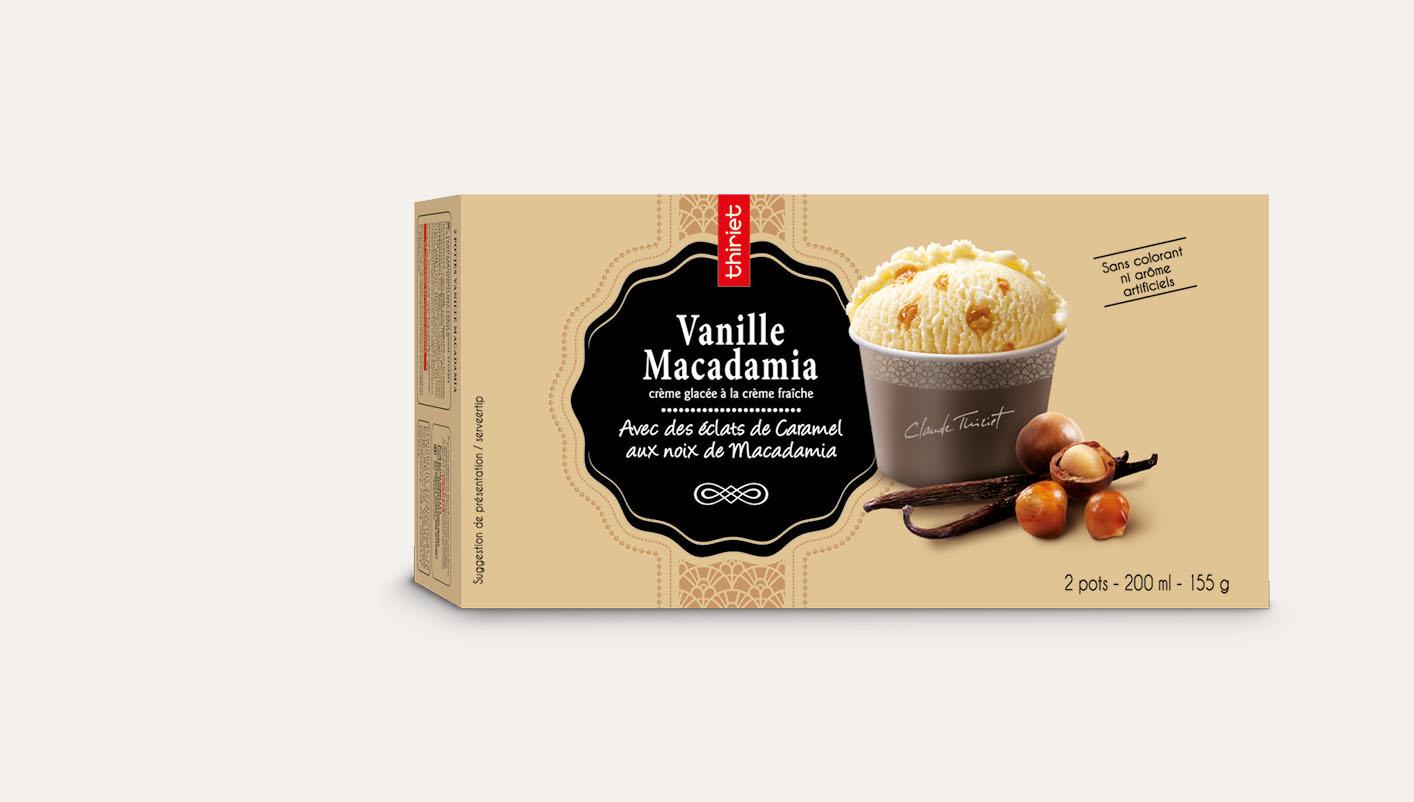 2 Pots individuels Vanille macadamia
