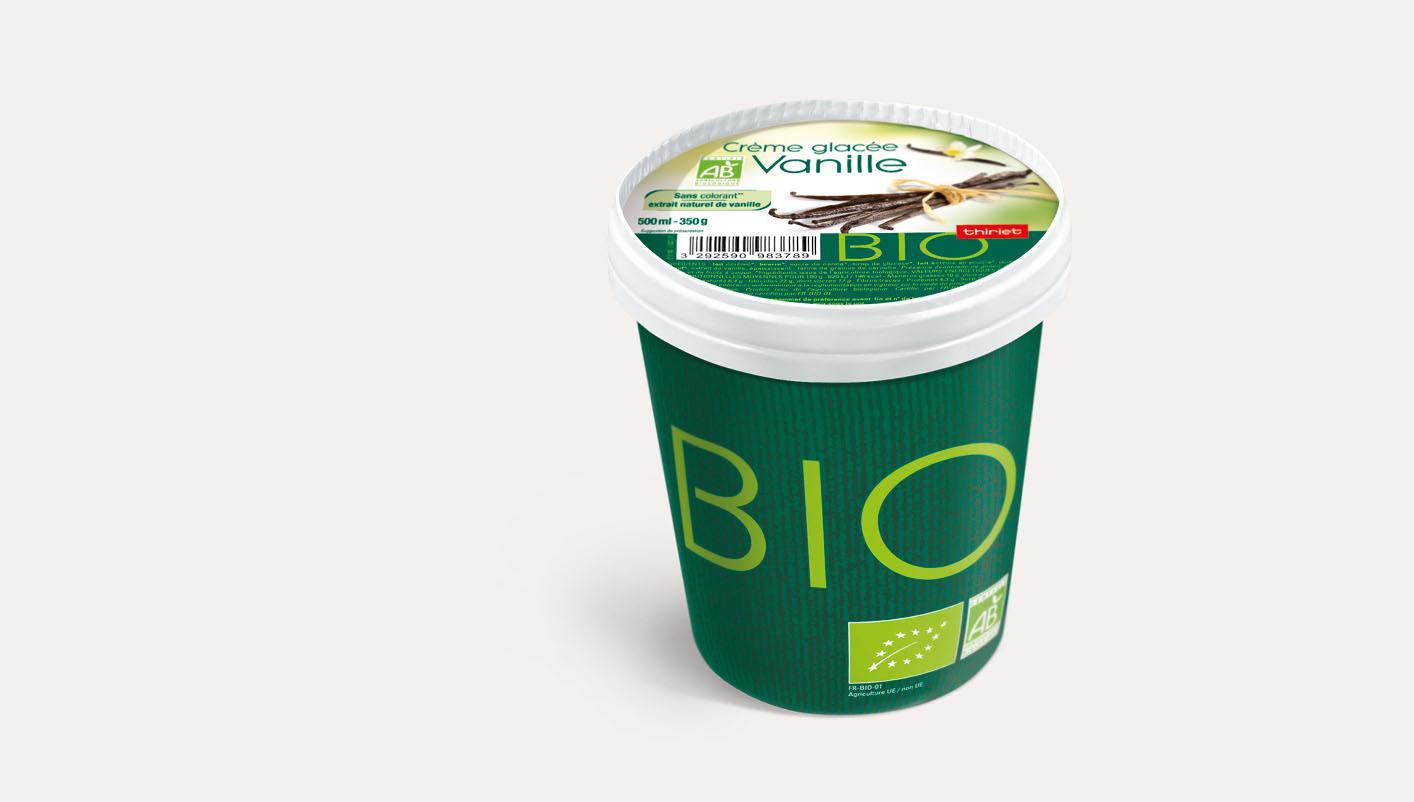 Pot Crème glacée Vanille biologique