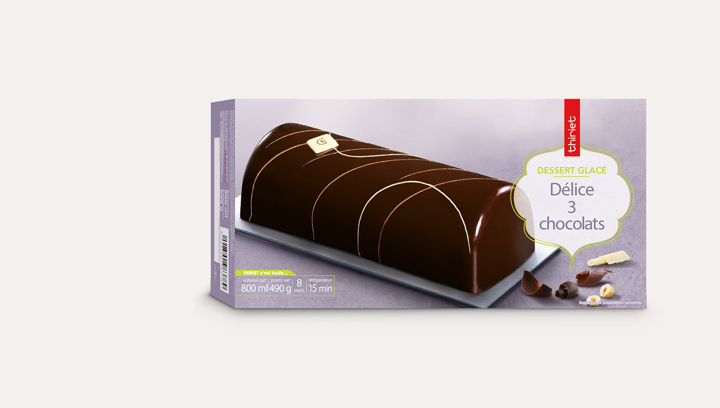 Délice 3 chocolats