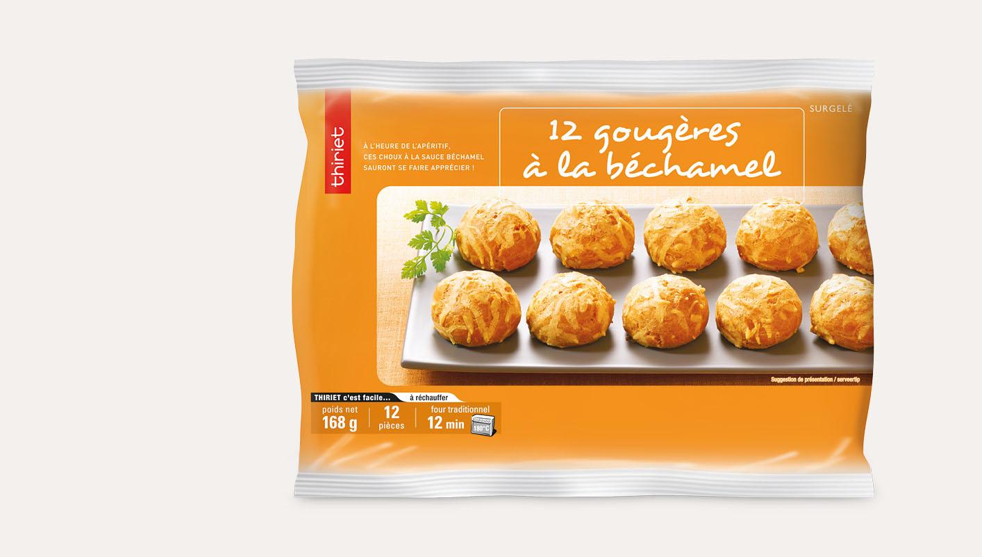 12 Gougères à la béchamel