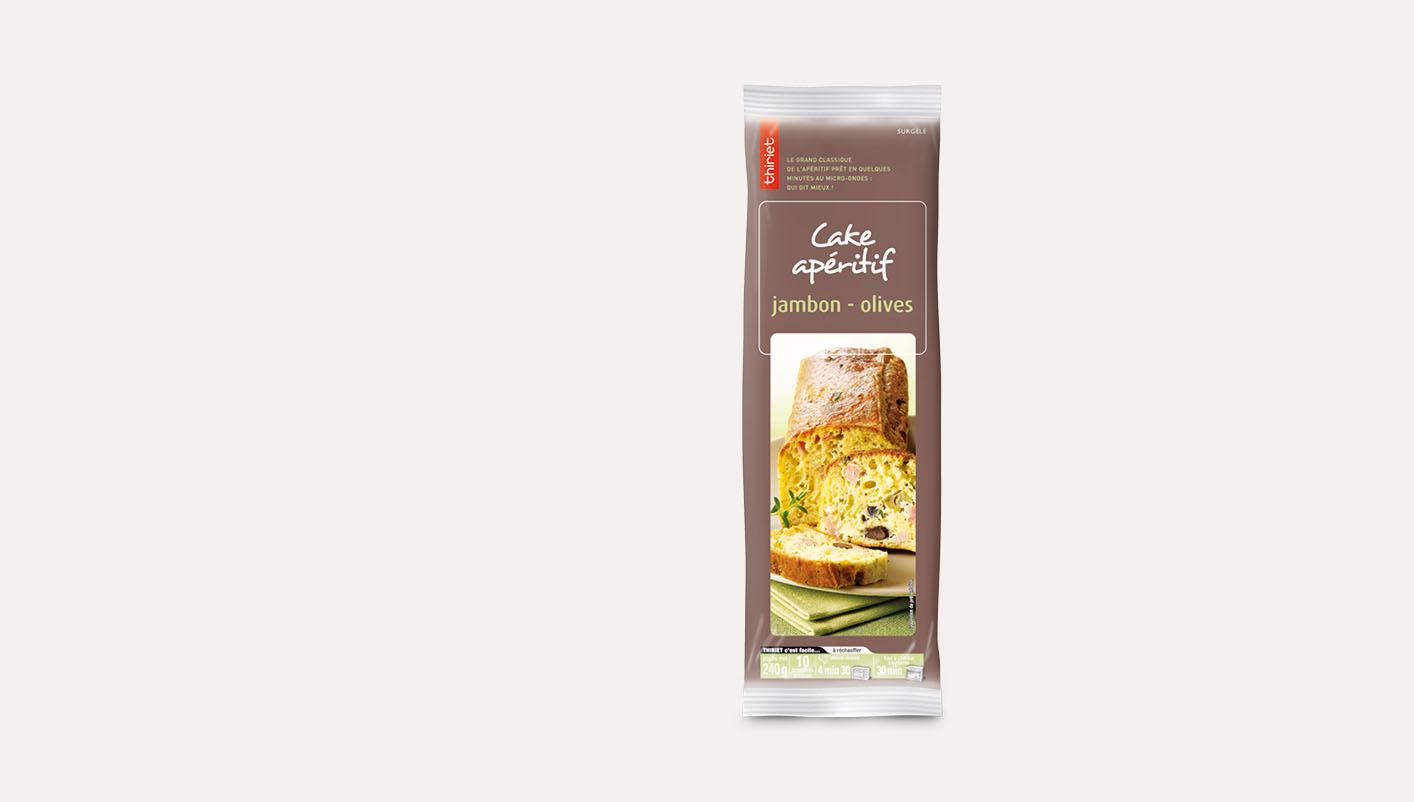 Cake apéritif jambon/olives