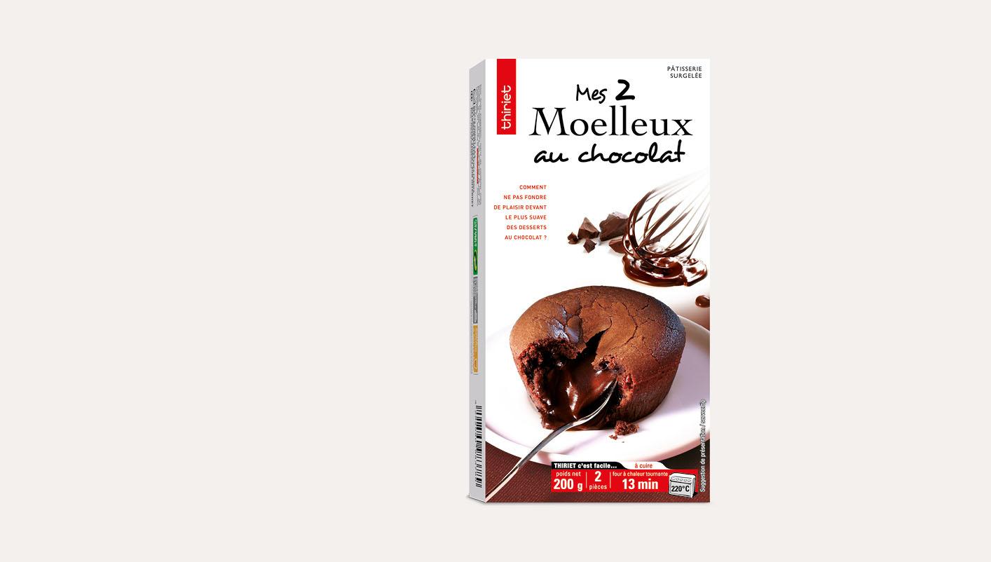 2 Moelleux au chocolat