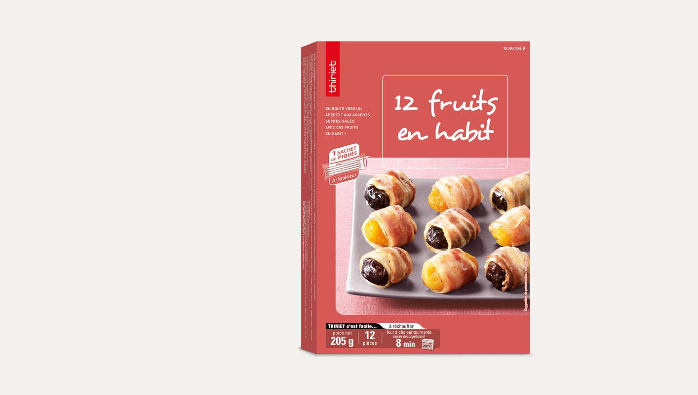 12 Fruits en habit