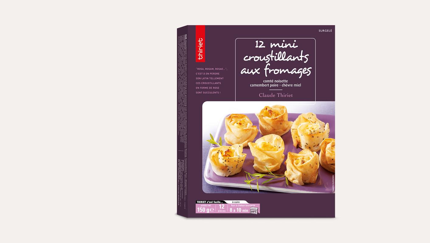 12 Mini croustillants aux fromages