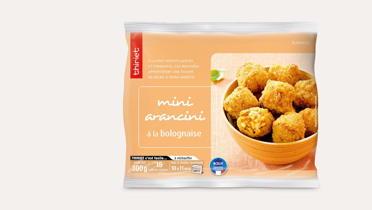 Mini arancini à la bolognaise