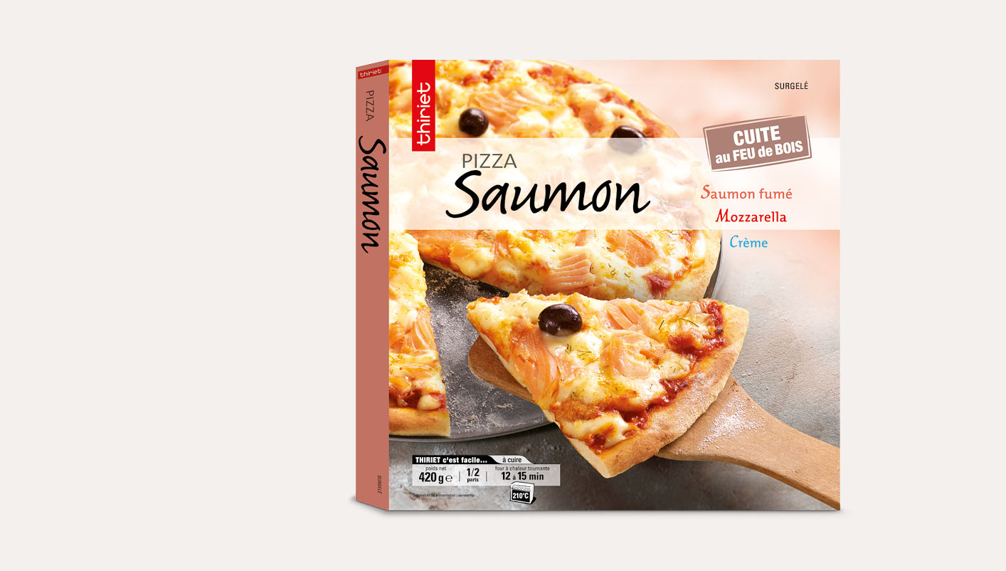 Pizza saumon