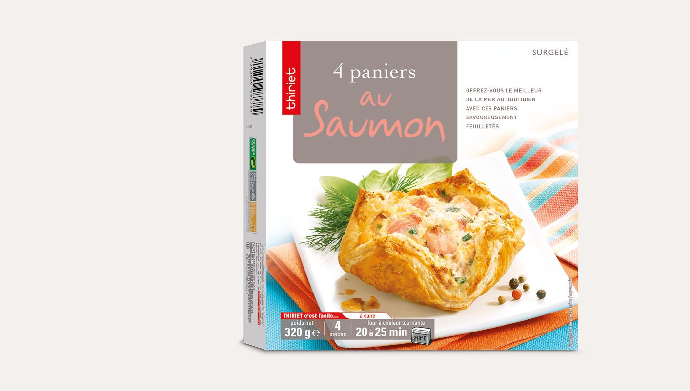 4 Paniers au saumon