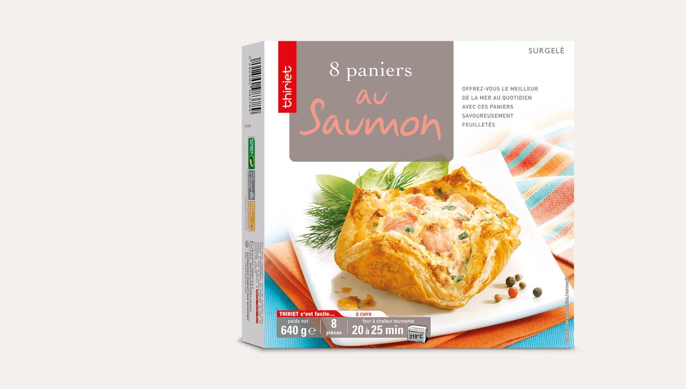 8 Paniers au saumon Lot de 2 boîtes