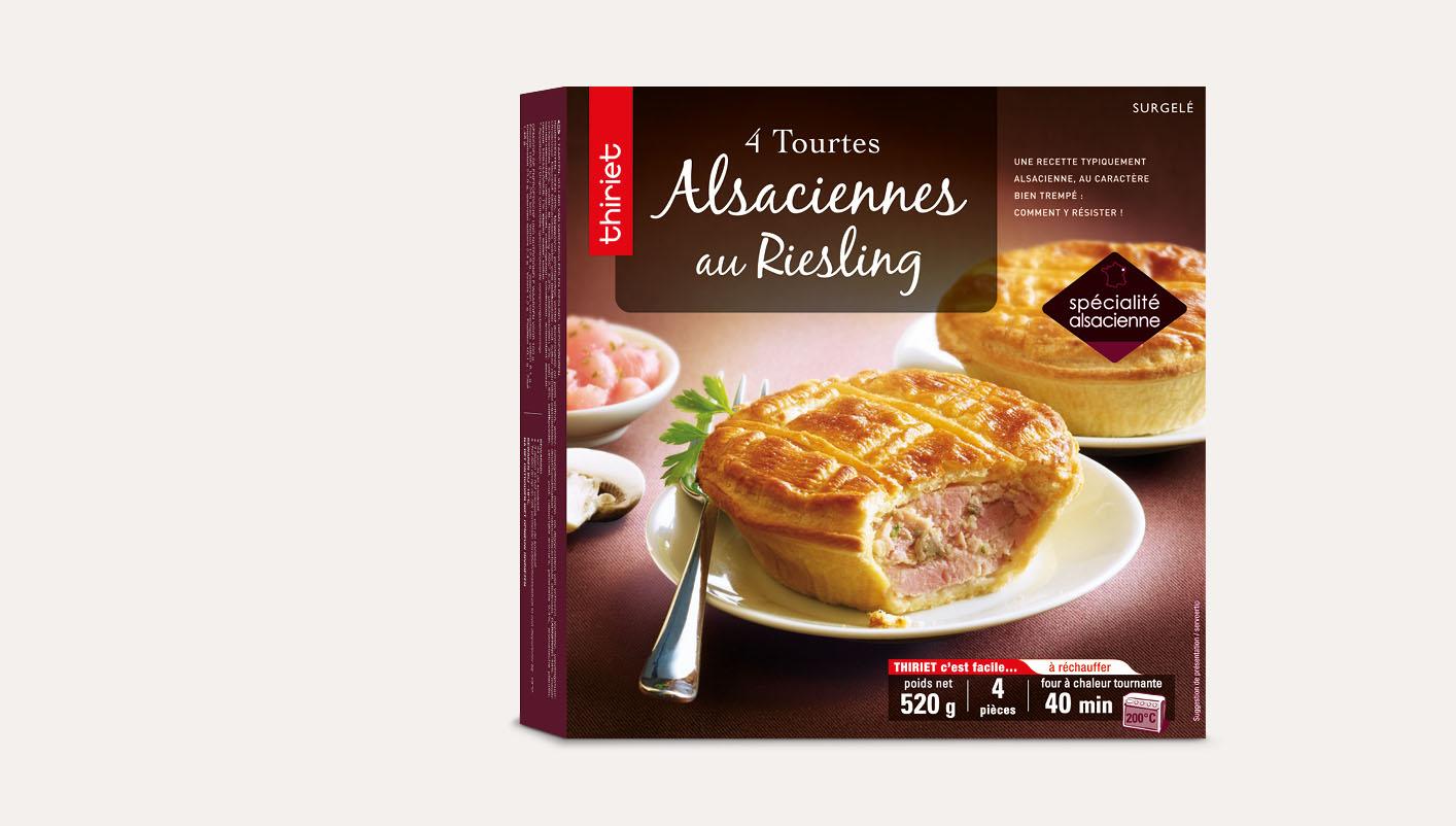 4 Tourtes Alsaciennes au Riesling