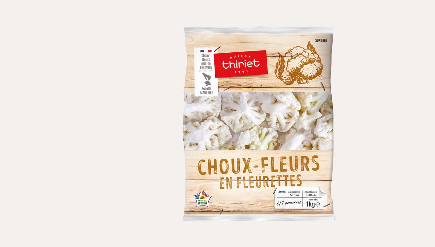 Choux-fleurs en fleurettes