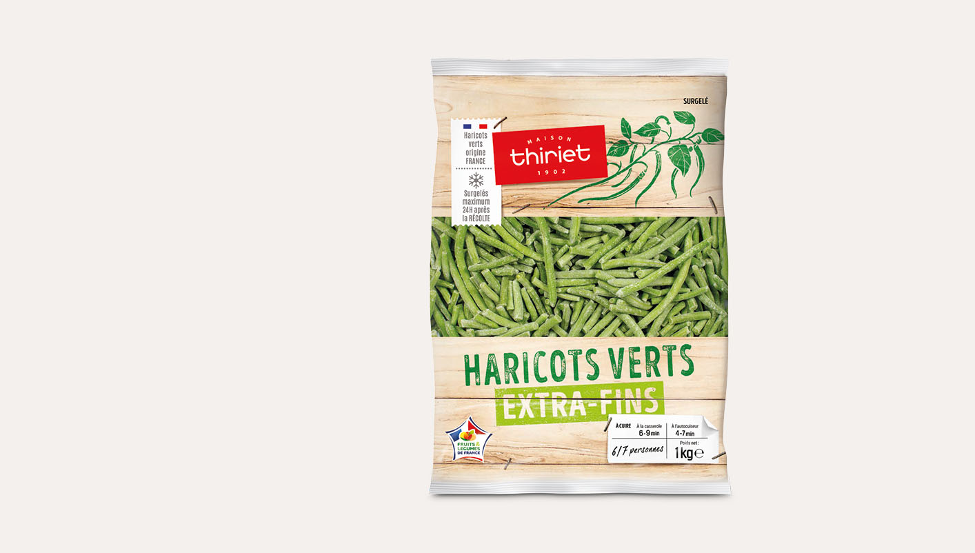 Haricots verts extra-fins