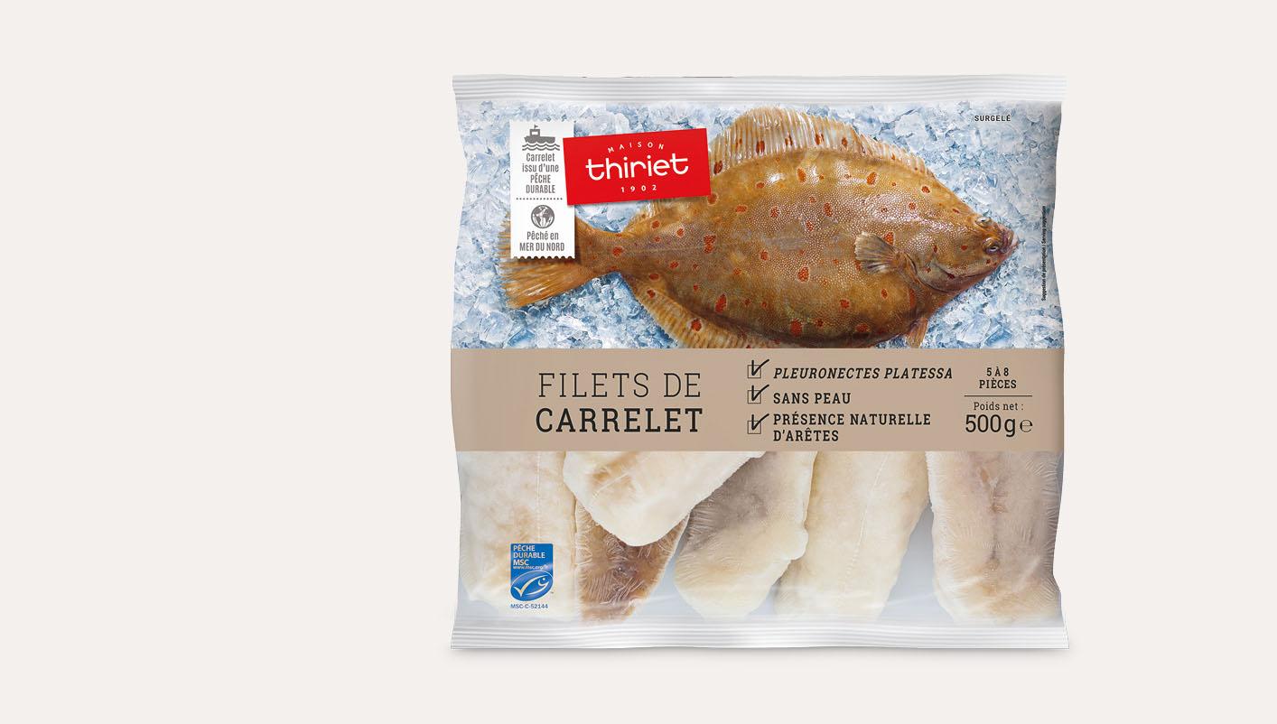 Filets de carrelet