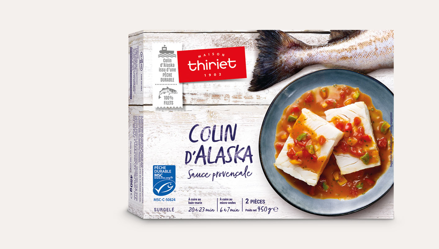Colin d'Alaska sauce provençale