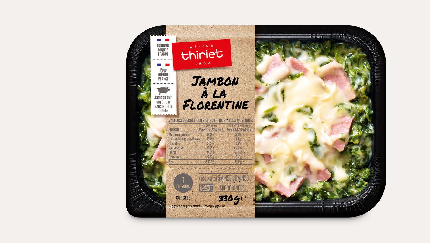 Jambon à la florentine