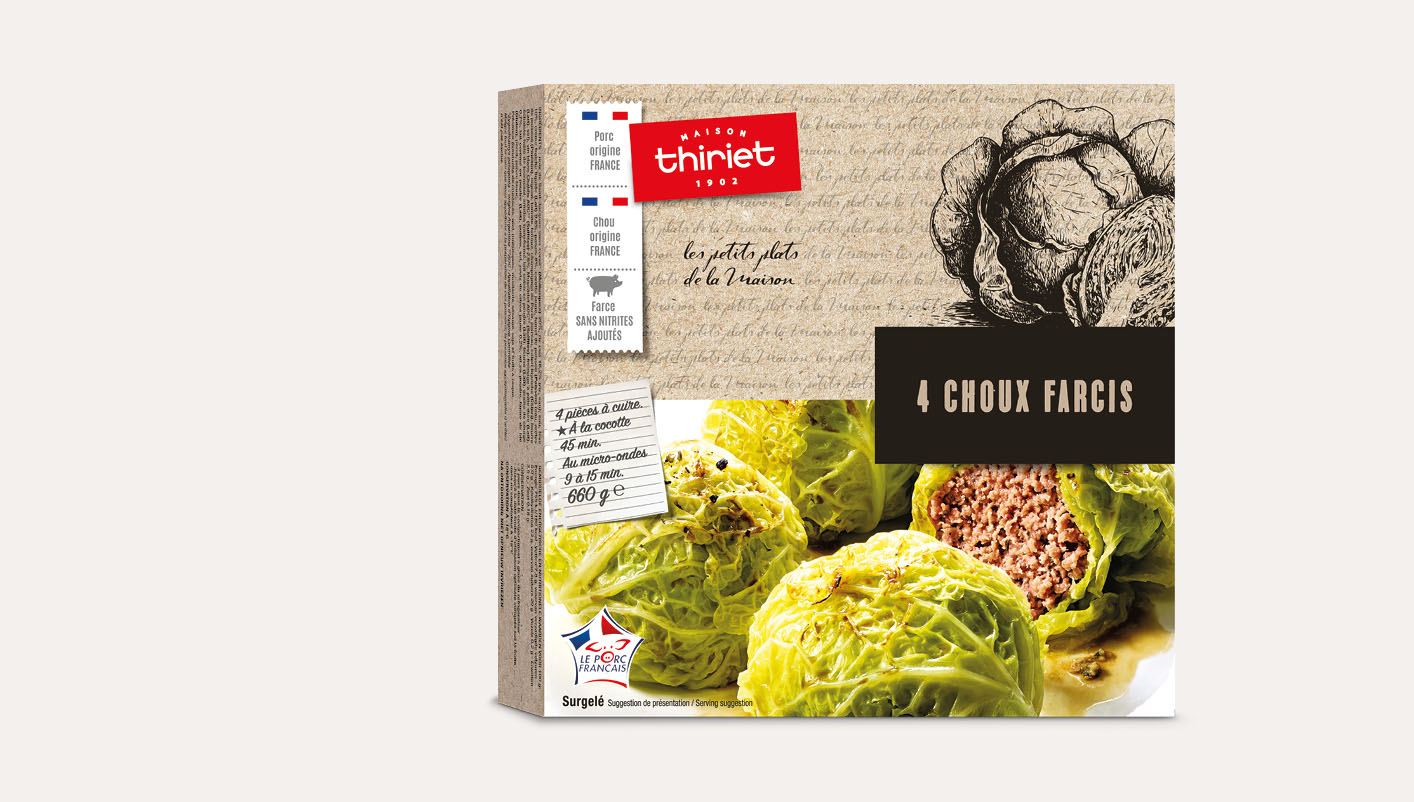 4 Légumes farcis Lot de 2 boîtes au choix