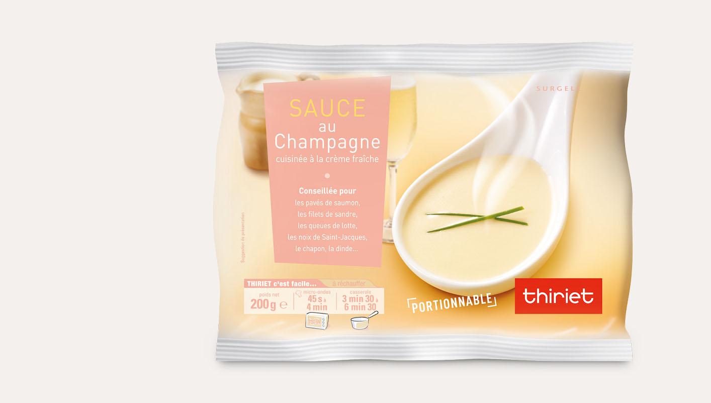 Sauce au Champagne