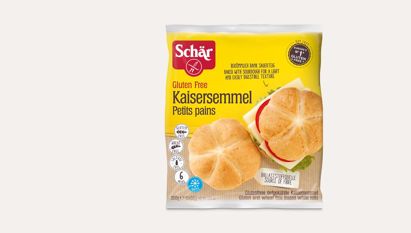 6 Pains 'Kaiser-Semmel' sans gluten