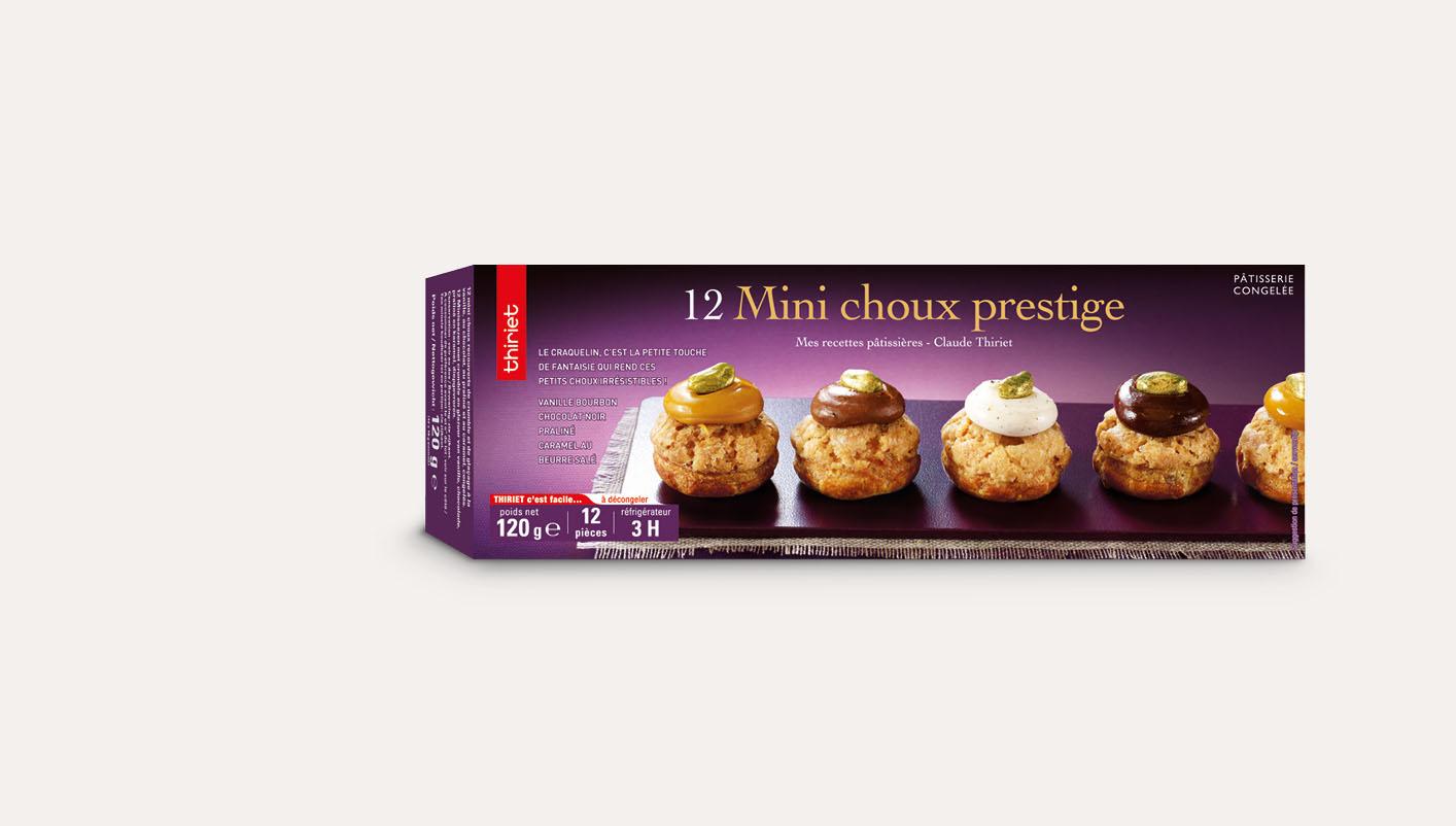 12 Mini choux prestige
