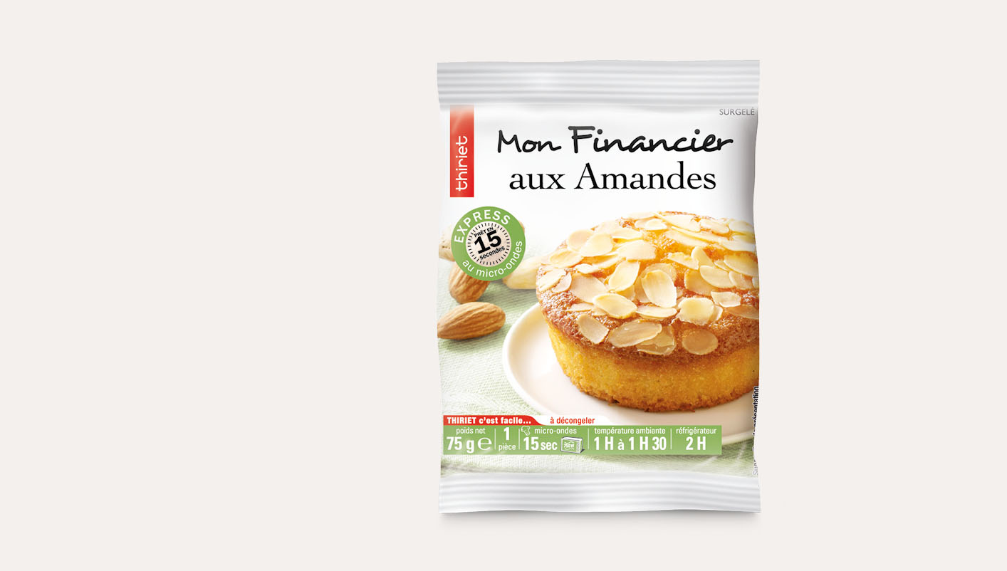 1 Financier aux amandes