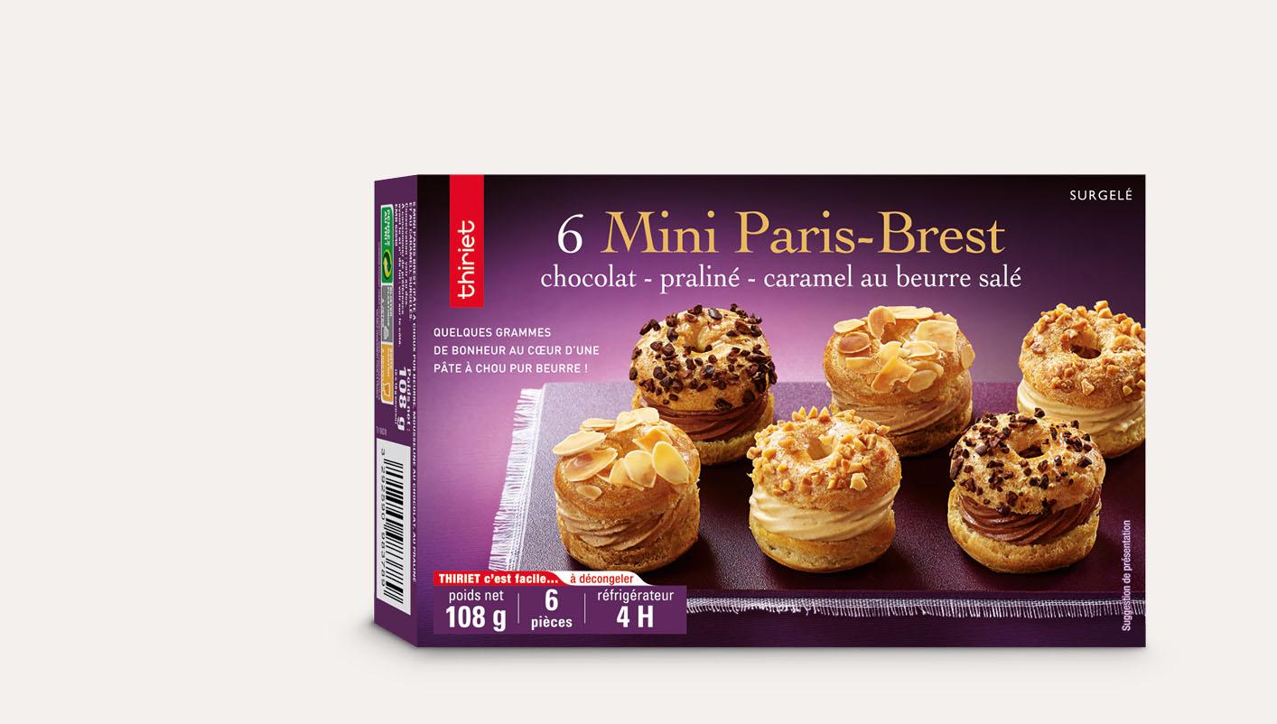 6 Mini Paris-Brest
