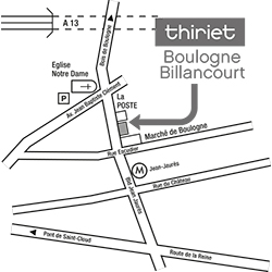 Thiriet magasin de boulogne billancourt - Magasin deco boulogne billancourt ...