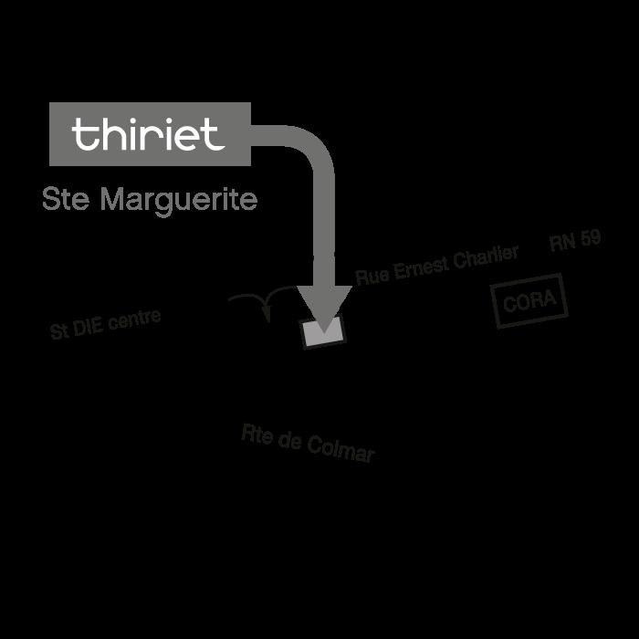Plan Magasins Thiriet SAINTE MARGUERITE
